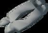 Polished troll bone detail