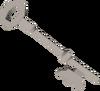 Steel key (H.A.M.) detail