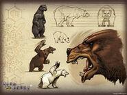 Thumb Bear Artwork