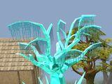 Árvore de cristal