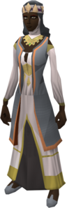 Dervish outfit equipped (female)