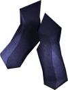 Elf-style boots (blue) detail