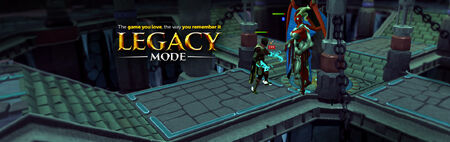 Legacy Mode head banner