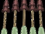 Promethium arrows