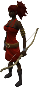 Quickbow equipped