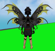 Satyr Tendril Wings equipped