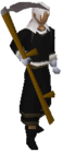 Scythe equipped old