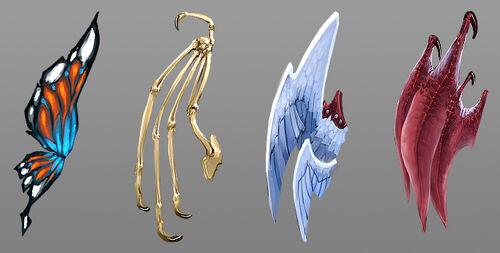 Solomon's Store Wings concept art