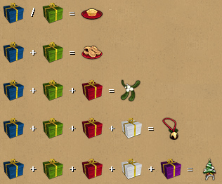 Tradeable gift rewards