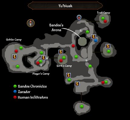 Yu'biusk (Bandos's Arena) map