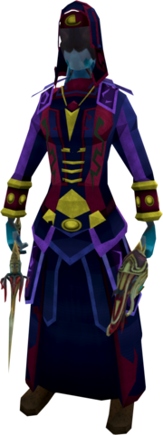 Cloaked zealot