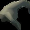 Desert goat horn detail