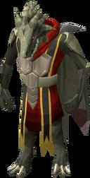 Dragonkin em pé