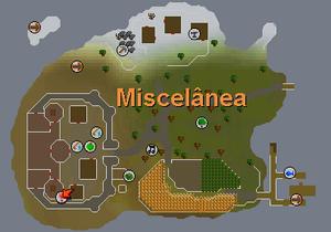 Miscelânea I - Mapa