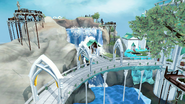 Prifddinas waterfall