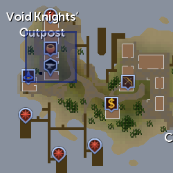 Squire (Void Knight General Store) location