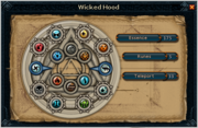 Wicked hood interface
