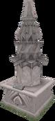 2014 Prifddinas statue