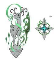 Cadarn symbols concept art