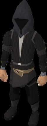 Capuz do Ceifador equipado (masculino)