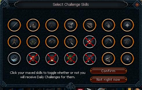 Challenge max toggle