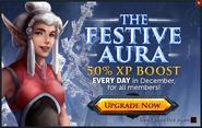 Festive Aura popup