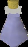 Frasco de água detalhe