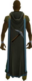 Hooded mining cape (t) equipped