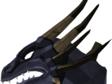 King black dragon head