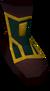 Left boot detail