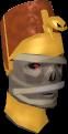 Múmia guardiã cabeça