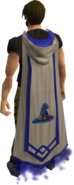 Magic master cape equipped