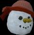 Pirate snowman chathead