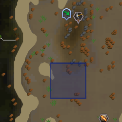 Small Rift (Al Kharid mining site) location