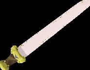 Vesta's longsword detail