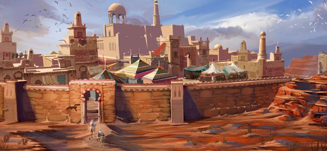 Al-Kharid concept art TRSOT