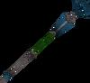 Ancient staff (blue) detail