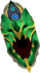 Augmented dragonfire deflector detail
