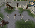 Compass clue Falador centre of White Knight's Castle courtyard.png