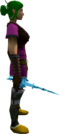Drygore rapier (ice) equipped.png