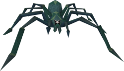 Giant crypt spider