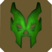 Luchador mask token detail