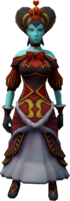 Outfit of Hearts (female) equipped