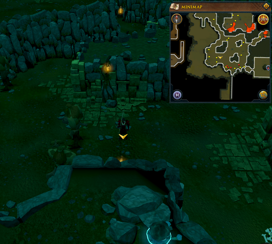 File:Scan clue Brimhaven Dungeon lower level west side of fire giant chamber.png