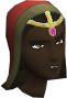 Silken pagri chathead (female)