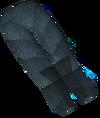 Werewolf legs (dark grey, female) detail