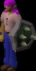Adamant berserker shield equipped old