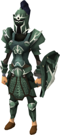 Adamant trimmed armour set (sk) equipped