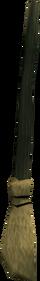 Aggie's broom detail