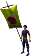 Banner (Dragon) equipped